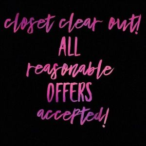 Other - 🔥 Closet CLEAR OUT🔥